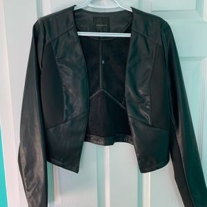 Faux leather jacket from Dynamite